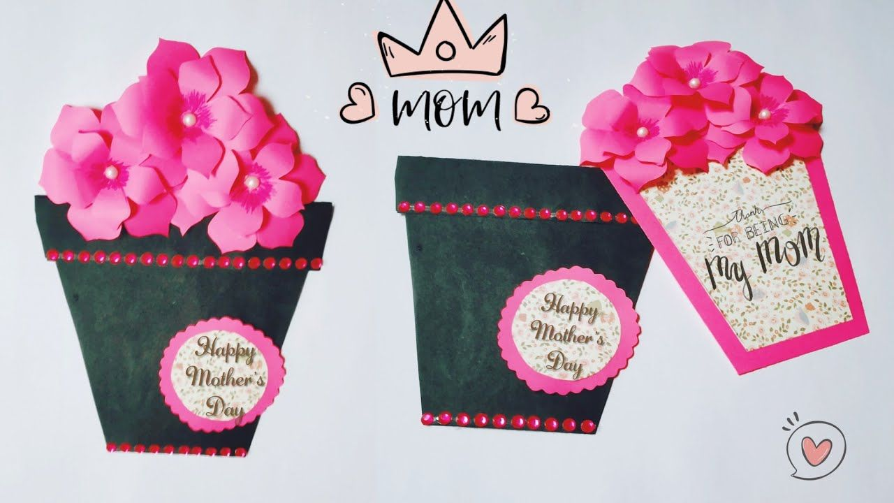 Beautiful and Easy card for mother's day / handmade mother