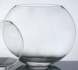 Round Glass Vase 10in Round Glass Vase Glass Vase Vase