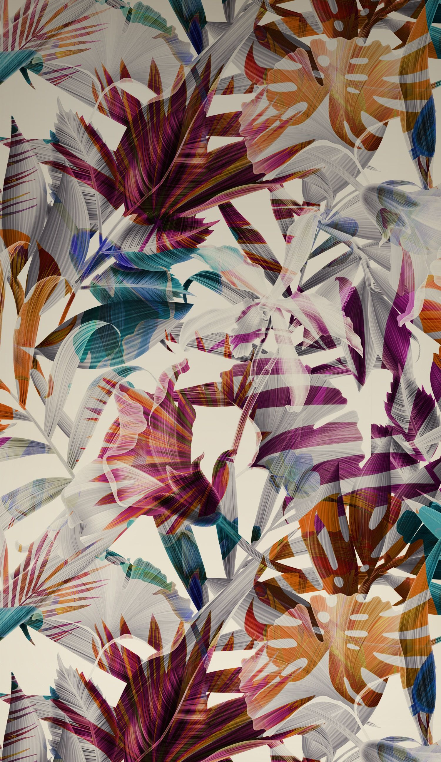 Pin by ยิปซี on Texture Iphone wallpaper tropical