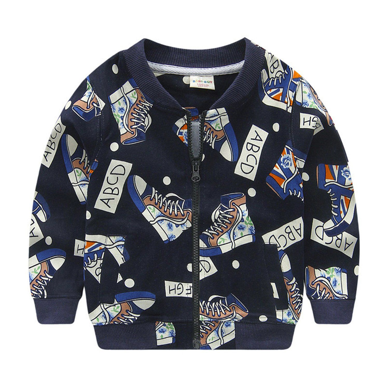 da9f9f8f5fe9 Felds Spring Autumn Children Outerwear Jackets Sport Fashion Kids ...