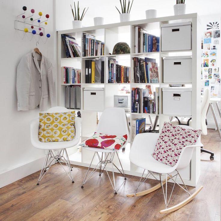 cr er une petite division avec les tag res ikea 20 id es. Black Bedroom Furniture Sets. Home Design Ideas