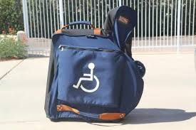 #Wheelchair Caddy for Travel