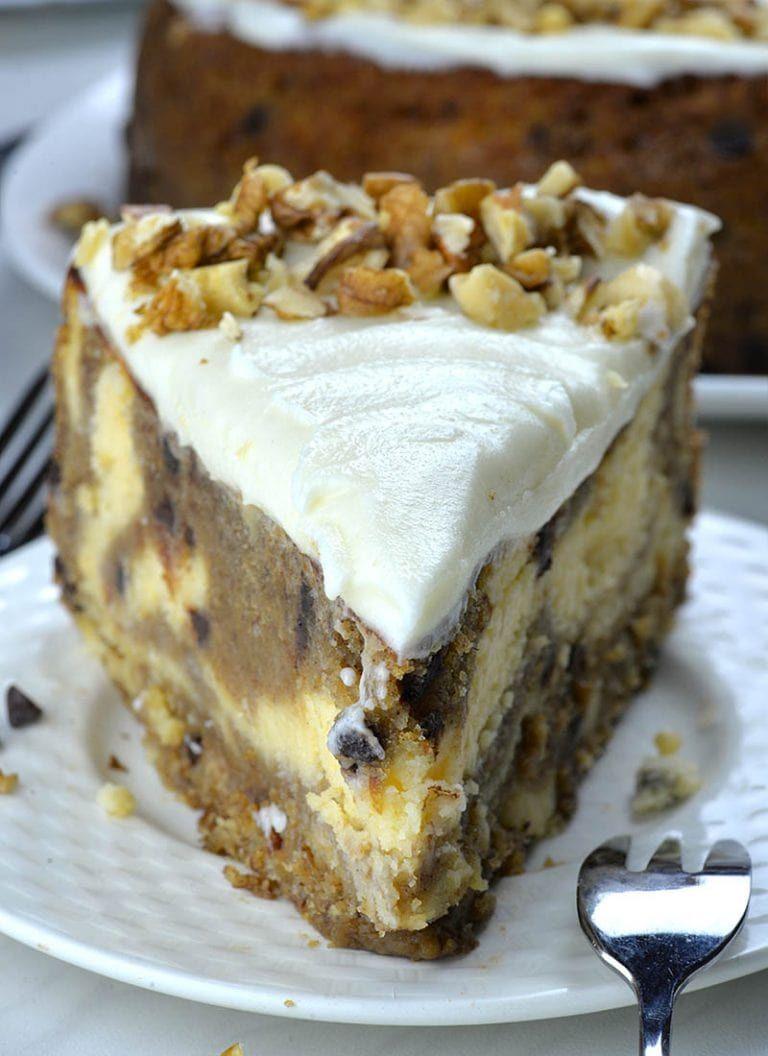 Banana Bread Cheesecake