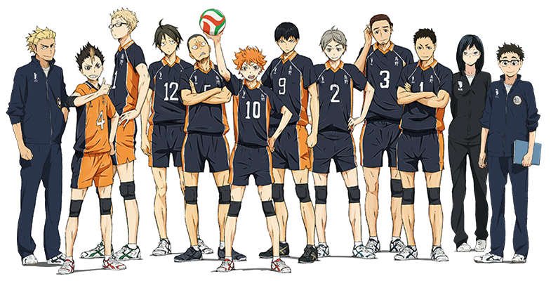 the top of the squads *^* #haikyuu