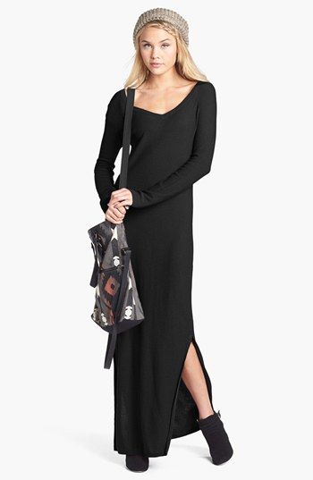 Rubbish® V-Neck Sweater Maxi Dress (Juniors) available at #Nordstrom sold out