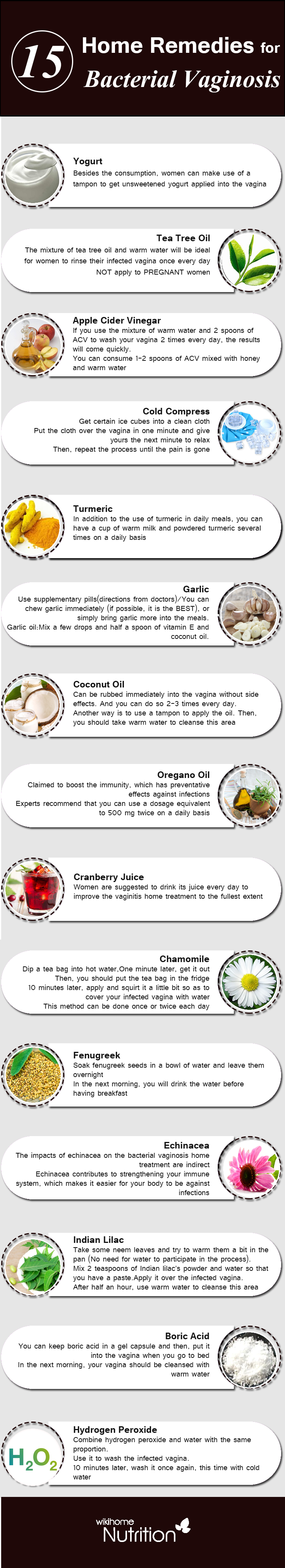 Home Remedies for Bacterial Vaginosis: how to get rid of ...