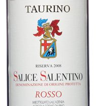 Taurino, $16, **  Salice Salentino Riserva 2008  Full-bodied, silky and pleasantly bitter with flavors of dark fruit.