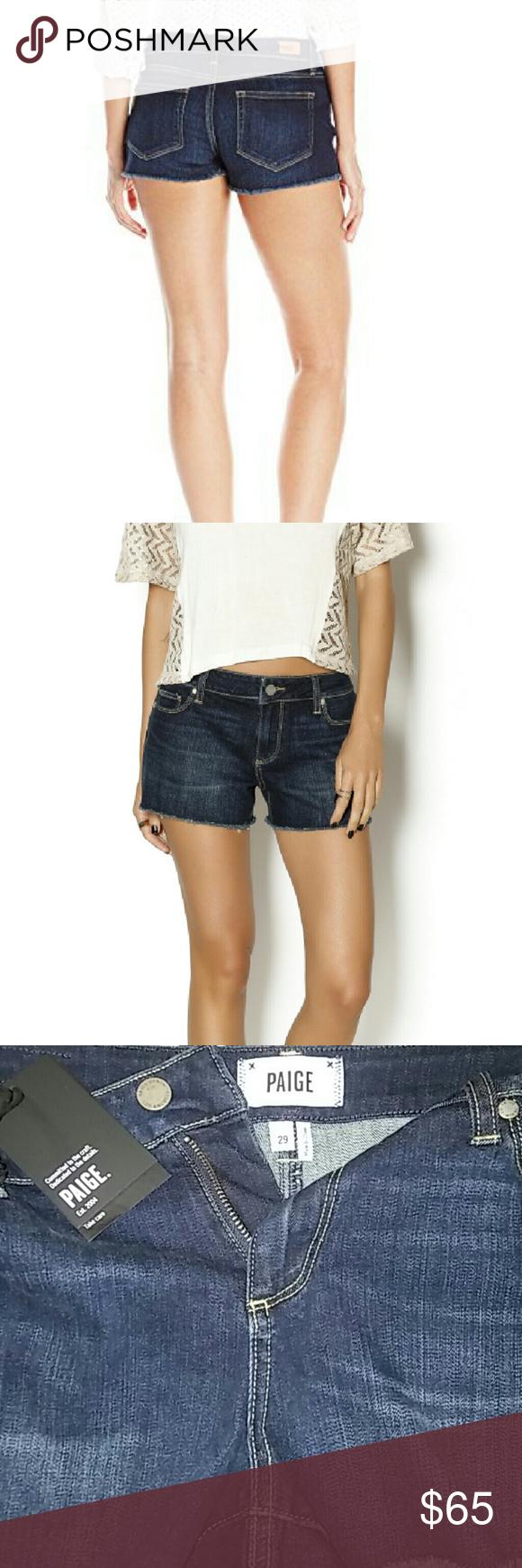 PAIGE Short PAIGE BOBBY Short, 99% Cotton, 1% Elastane. ( Excluded bundles). PAIGE Shorts Jean Shorts