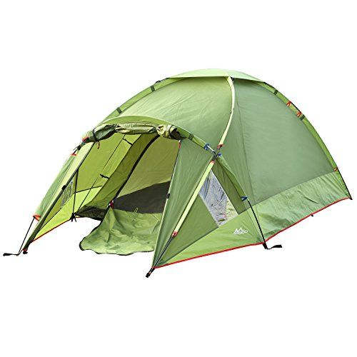 Moko Waterproof Family Camping Tent Portable 3 Person Outdoor Instant Cabin Tent 4season Double Layer Dome Te Family Tent Camping Backpacking Tent Outdoor Tent