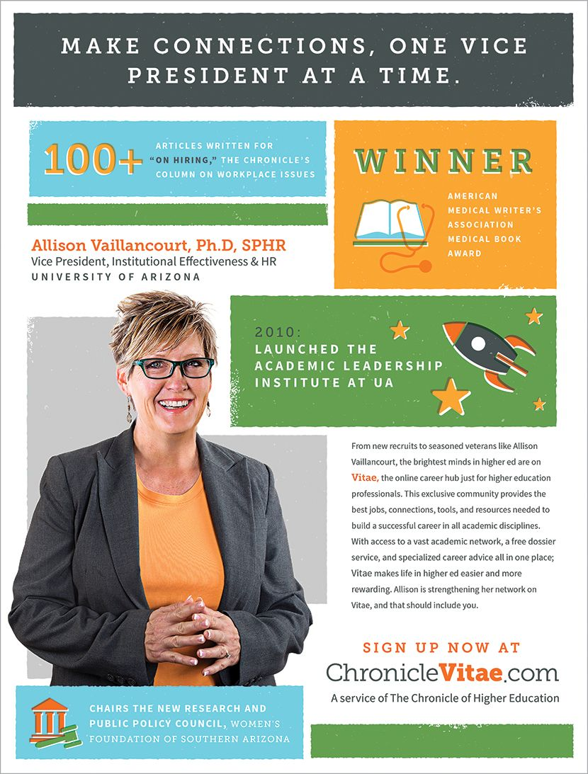 Erin McKnight, Chronicle of Higher Education, Higher-Ed, Vitae ...