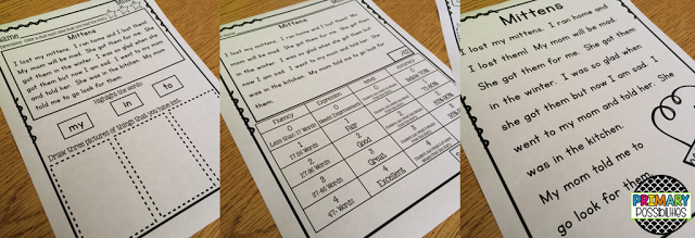 Primary Possibilities: Fluency Ideas for the Classroom
