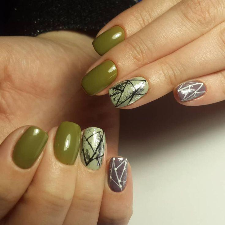74+ Nail Polish Khaki Green | pretty nails | Pinterest | Khakis ...
