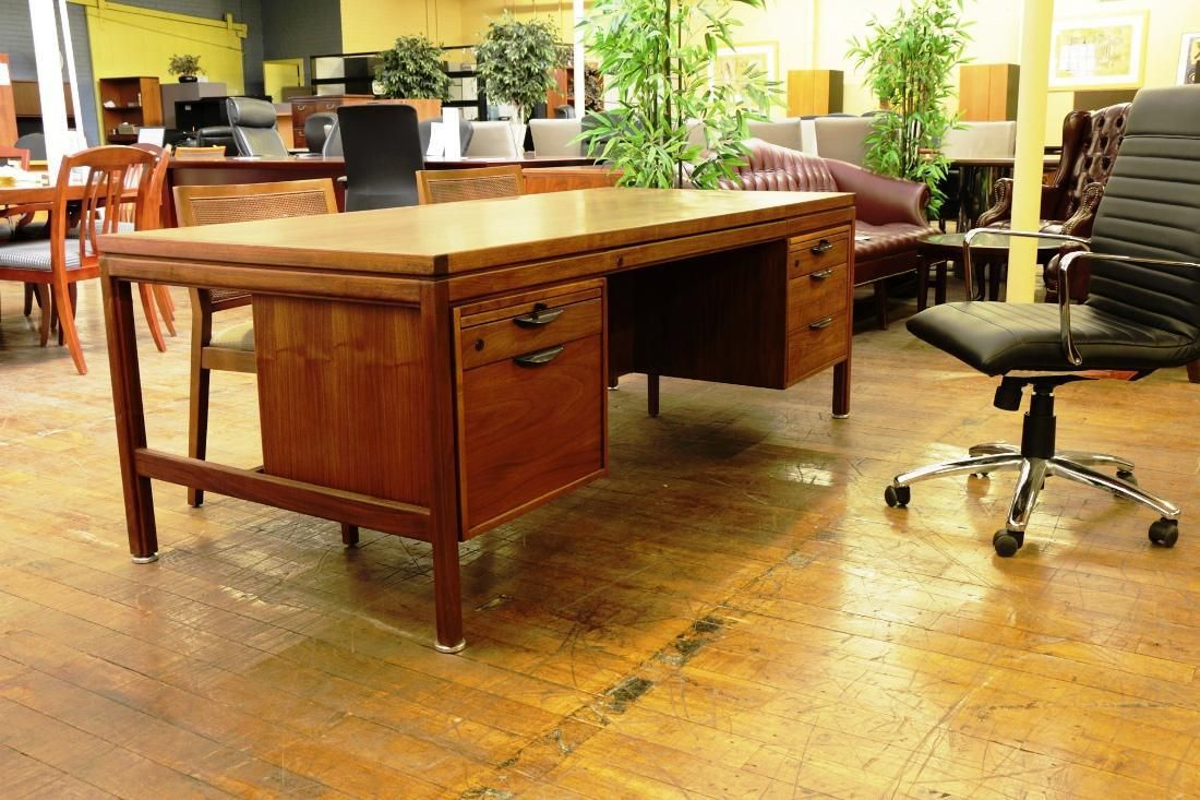 Merveilleux Image Of: Mid Century Office Furniture Set