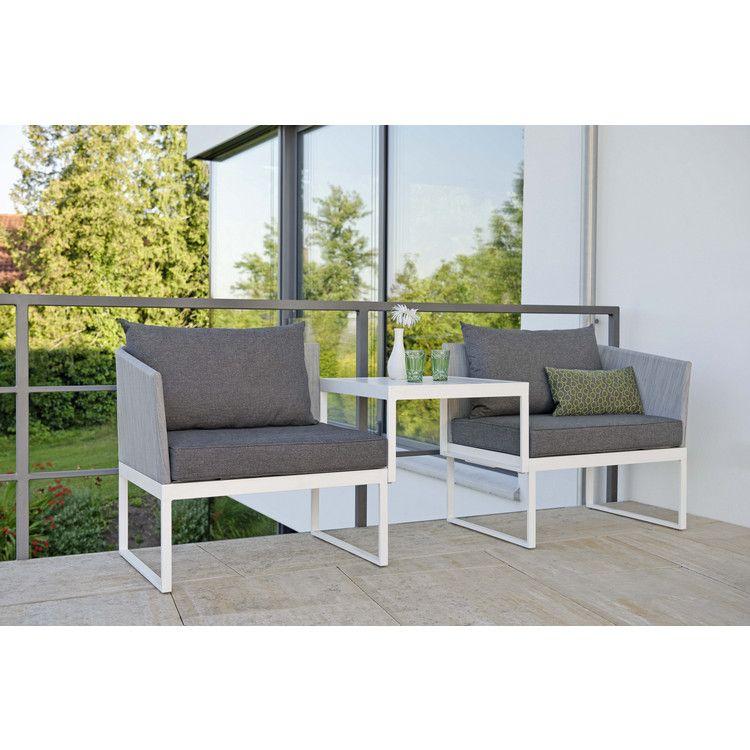 modulares balkonset 3-in-1: lounge, sofa oder liege | outdoor, Terrassen deko