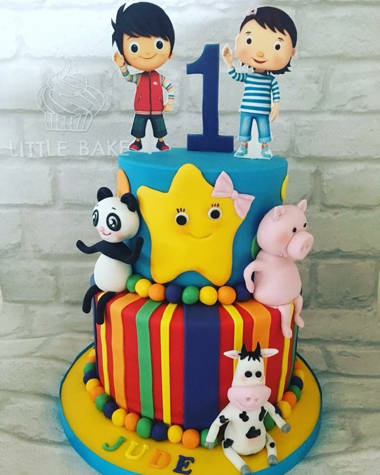 LITTLE BABY BUM CAKE TOPPER PERSONALISED EDIBLE PRINTED ICING CAKE DECORATION