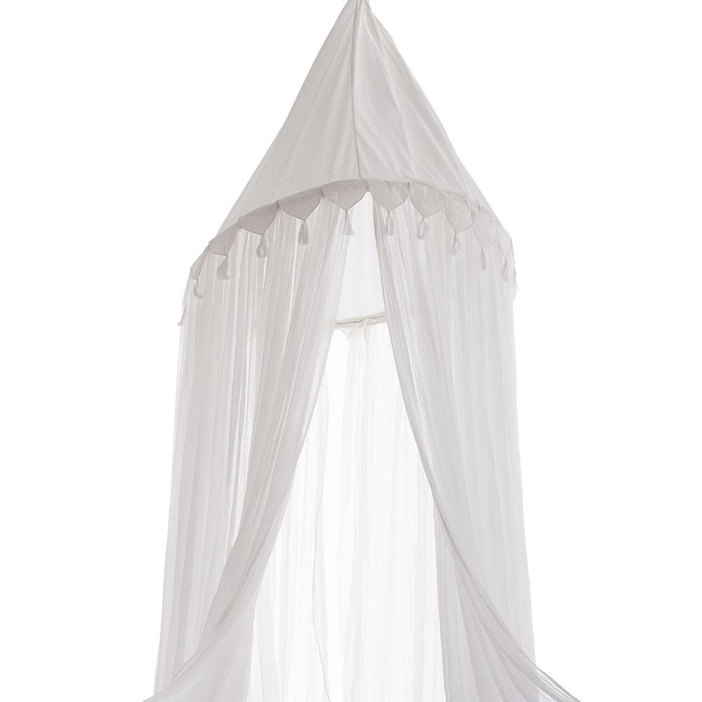 Renaissance Bed Canopy New Wood Mirror Wood Home Decor White Canopy