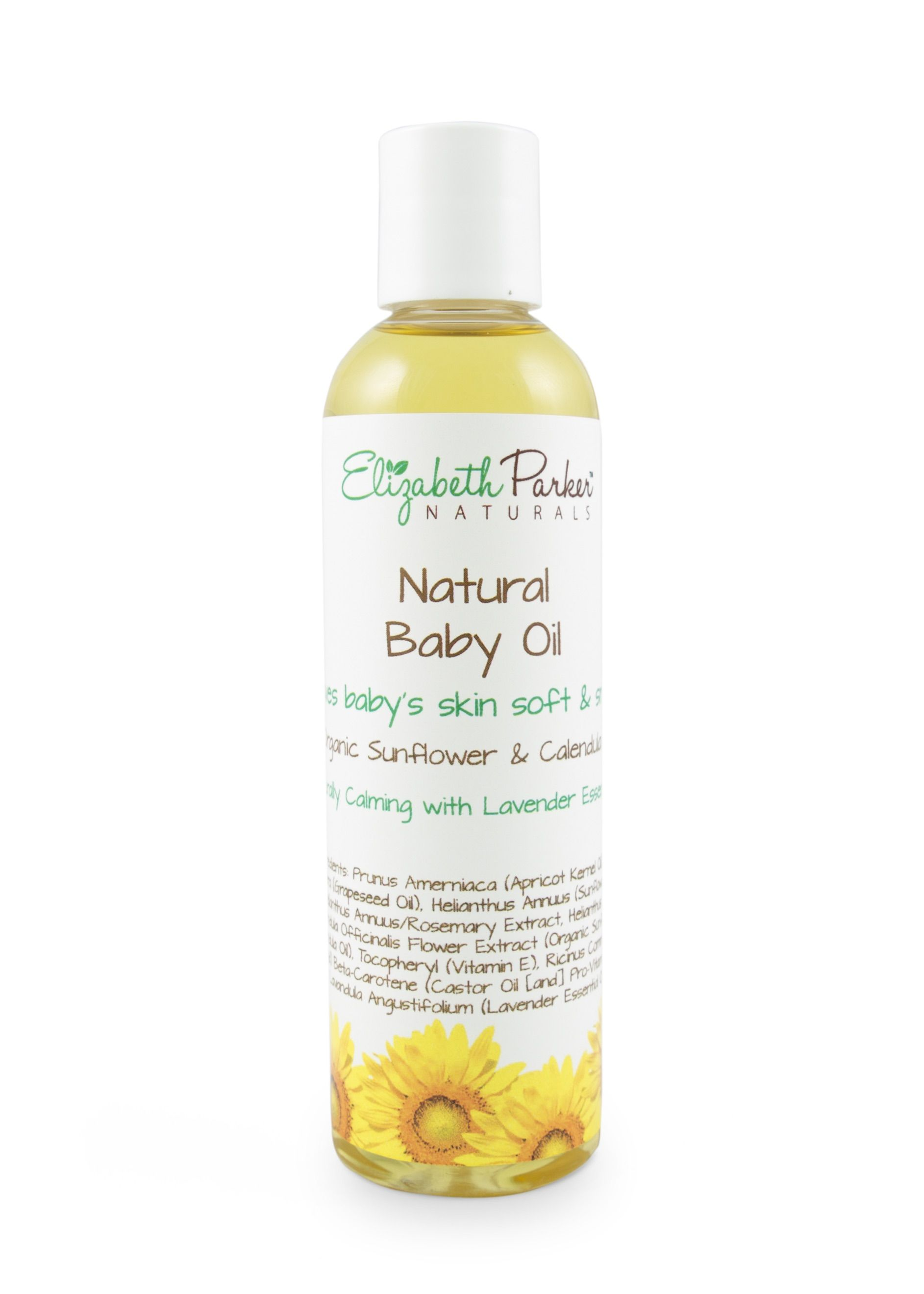 Organic Baby Oil With Calendula Sunflower And Lavender Essential Oil Baby Oil Lavender Essential Oil Lavender Essential