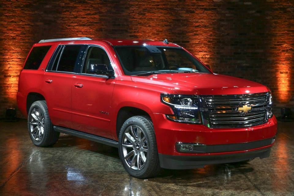 2016 Chevrolet Tahoe Front Per