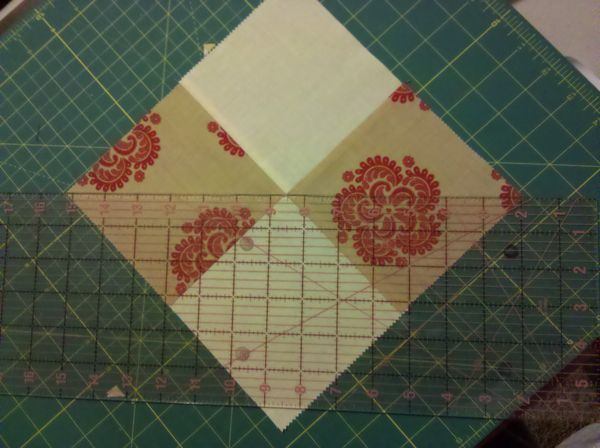 My Pinwheel Disappearing 4 Patch Using Charm Packs