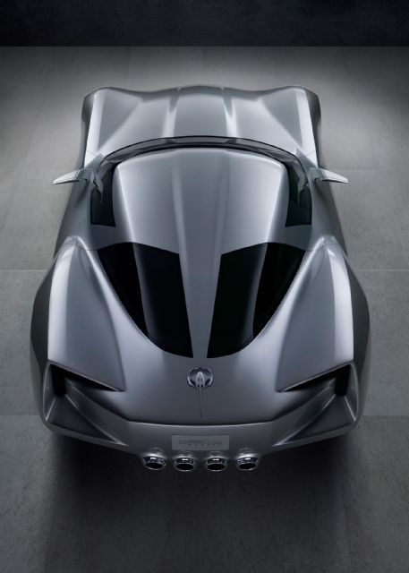 2 2009 Corvette Stingray Concept Rear