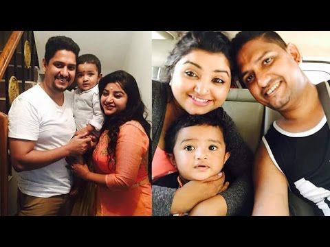 Vani Rani Serial Poongodi -  Mahalakshmi Latest Family Photos /  Mahalak...