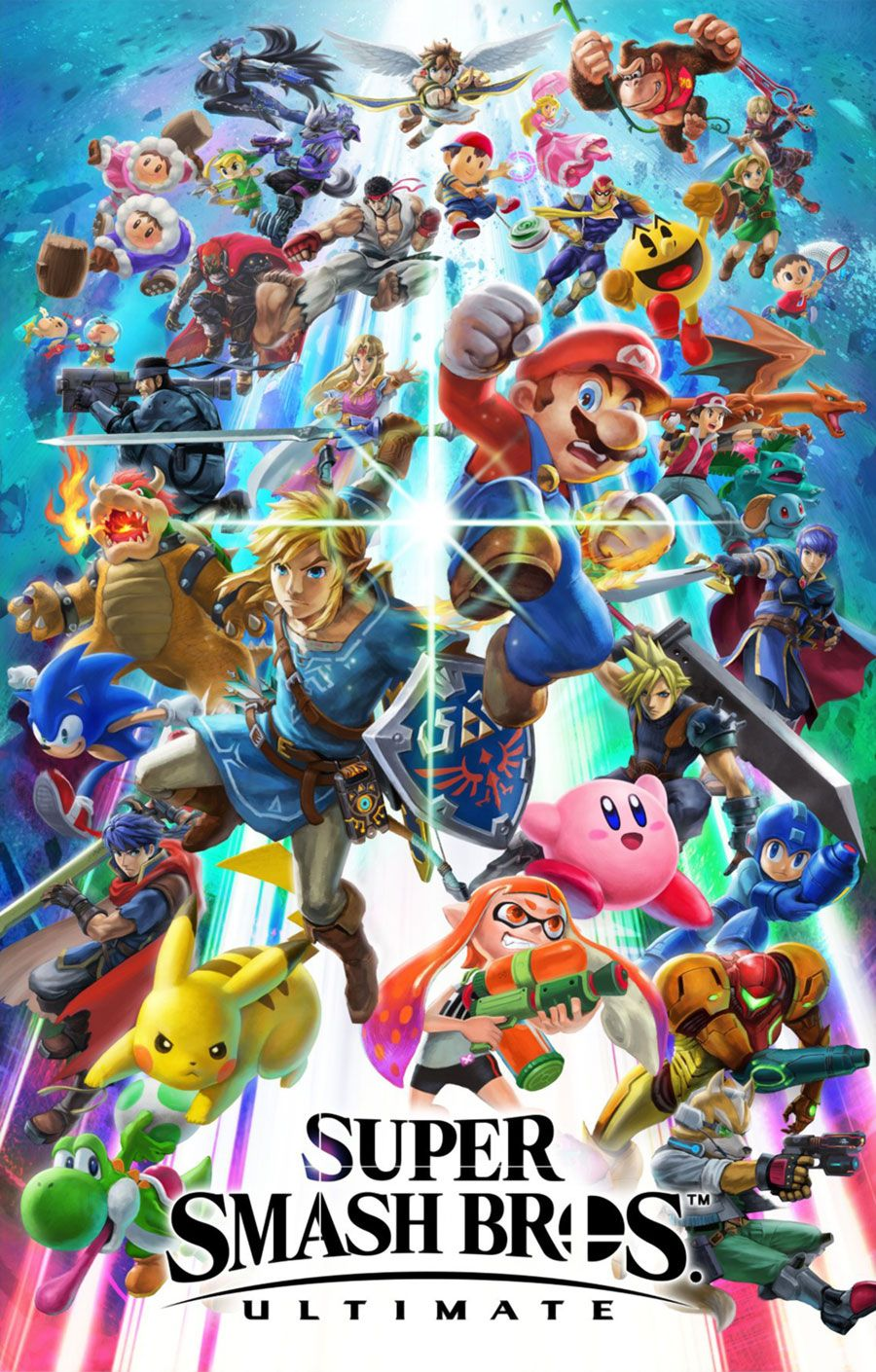 Key Art From Super Smash Bros Ultimate Illustration Artwork Gaming Videogames Nintendo Super Smash Bros Super Smash Bros Brawl Smash Bros