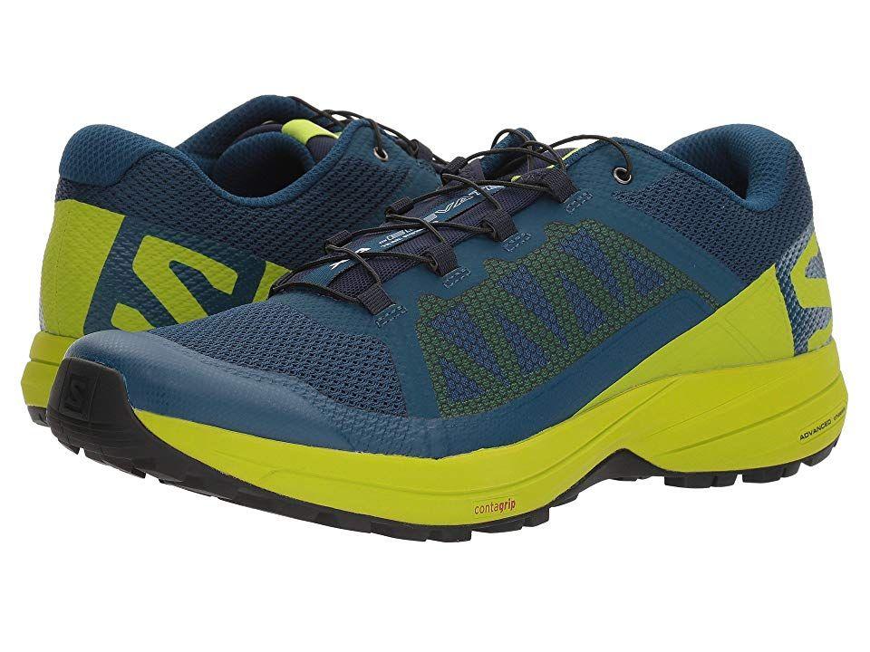 Salomon XA Elevate Men's Shoes PoseidonLime GreenBlack