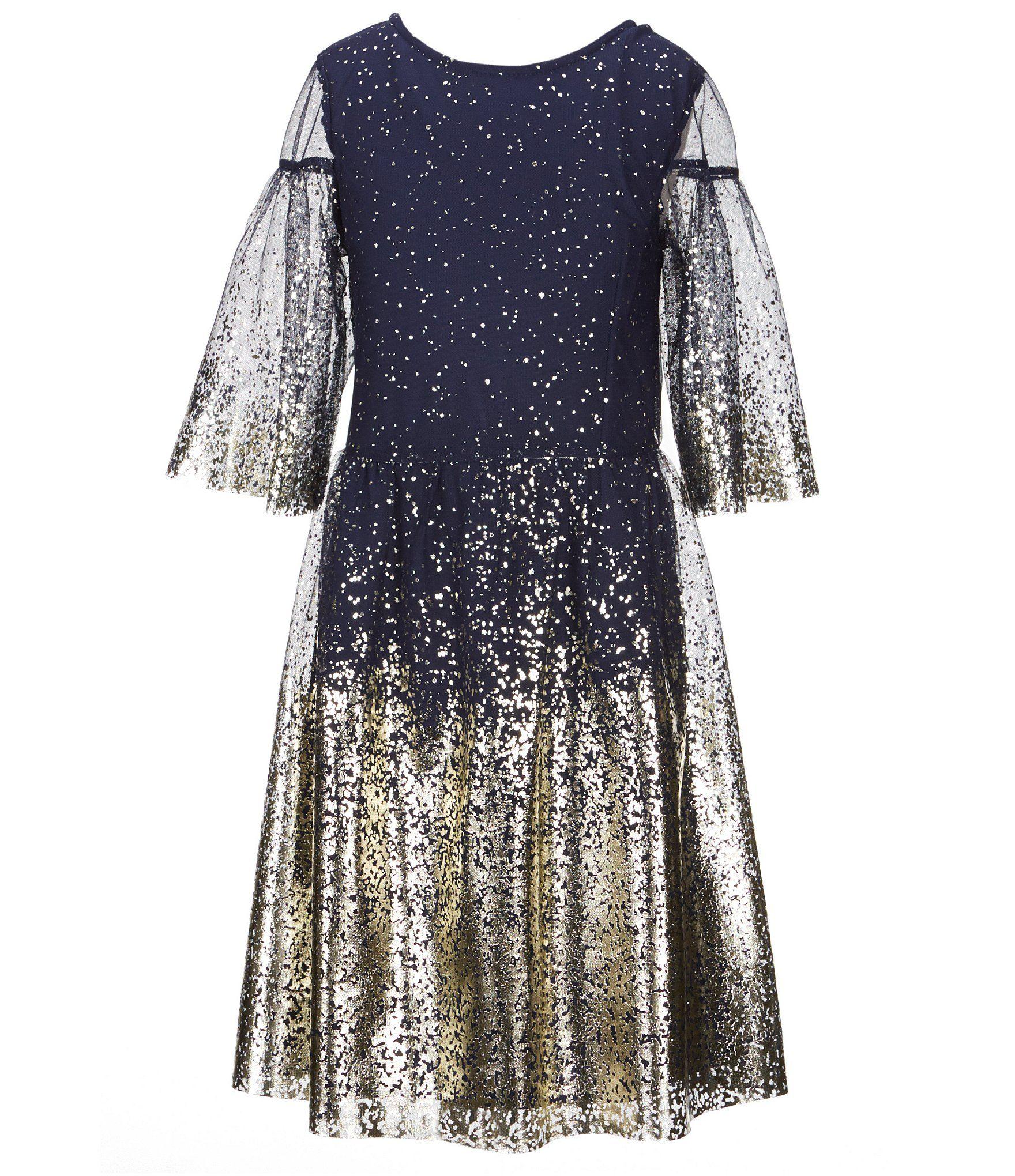 b1245925ee1 Shop for GB Girls Big Girls 7-16 Metallic Foiled Mesh Dress at  Dillards.com. Visit Dillards.com to find clothing