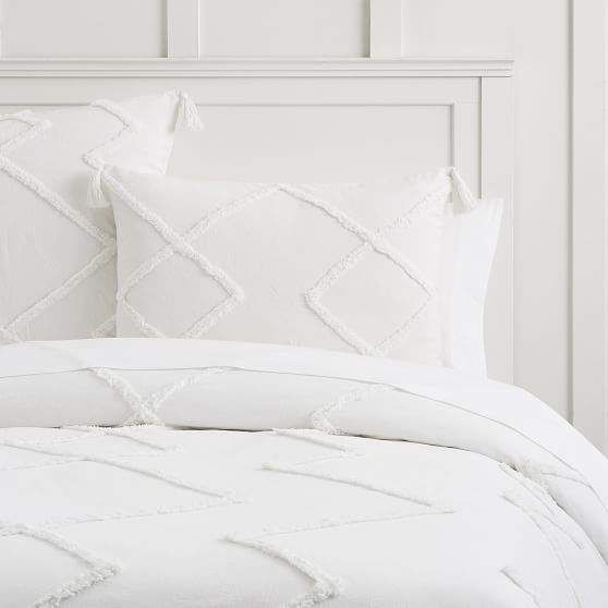 Ashlyn Tufted Duvet Cover Twin Twin Xl Ivory Products