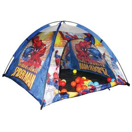 @Marvel Spider-Man Ball Pit Tent Set #PlayOutside #Hedstrom #Toys #Marvel #Spider-Man #BallPit #Tent #Skymall