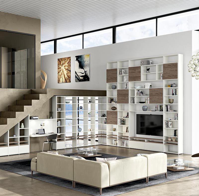 Hulsta Mega Design Eine Passgenaue Regalwand Oder Wohnwand Die
