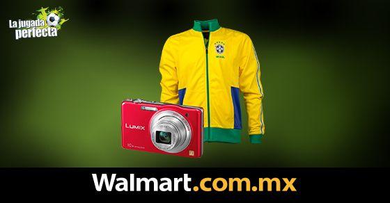 Compra tu cámara Panasonic Lumix SZ1 y llévate de regalo la chamarra de Brasil. Los mejores productos, al mejor precio. Walmart.com.mx, Hacemos Clic!