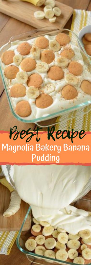 Magnolia Bakery Banana Pudding #desserts #cakerecipe #bananapudding