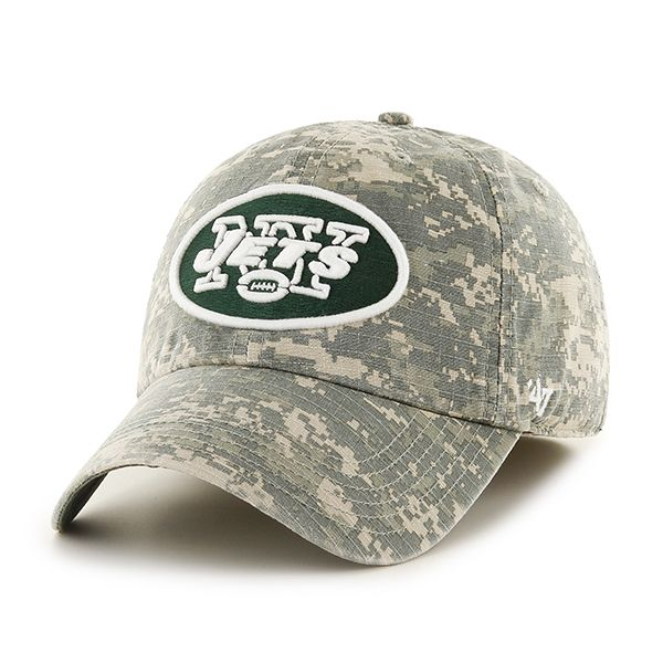 more photos 513ee e0aaf New York Jets Officer Digital Camo 47 Brand Fitted Hat