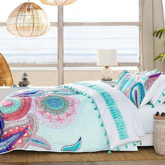Etonnant Bedroom   Thrifty Home Decor. Island Paisley Comforter + Sham | PBteen