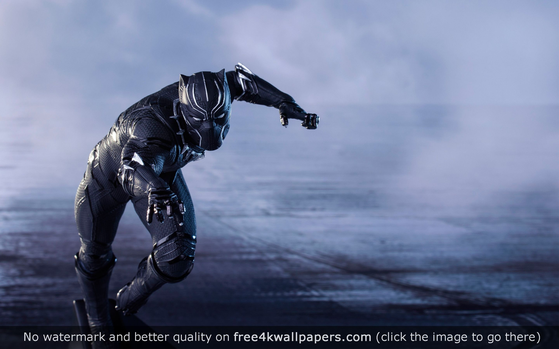 captain america civil war black panther 4k wallpaper | desktop