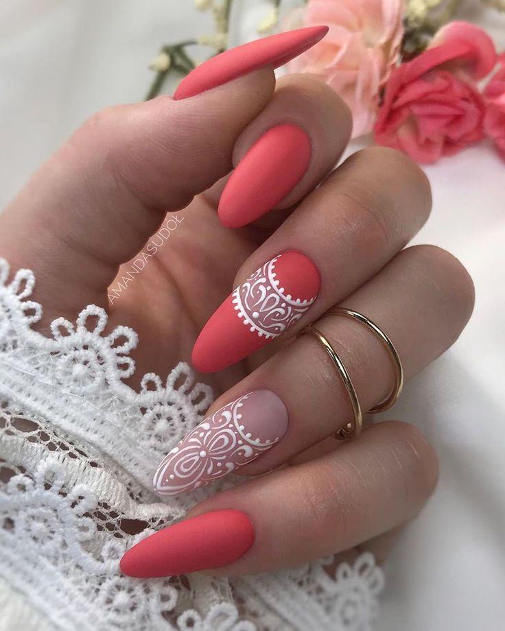 Pretty & Easy Gel-Nagel-Designs zum Kopieren im Jahr 2019; Trendy Gel Nails Designs Inspira
