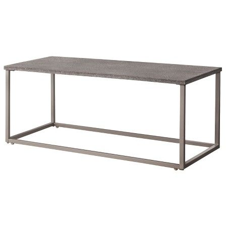 Threshold Heatherstone Metal Patio Coffee Table Target Patio