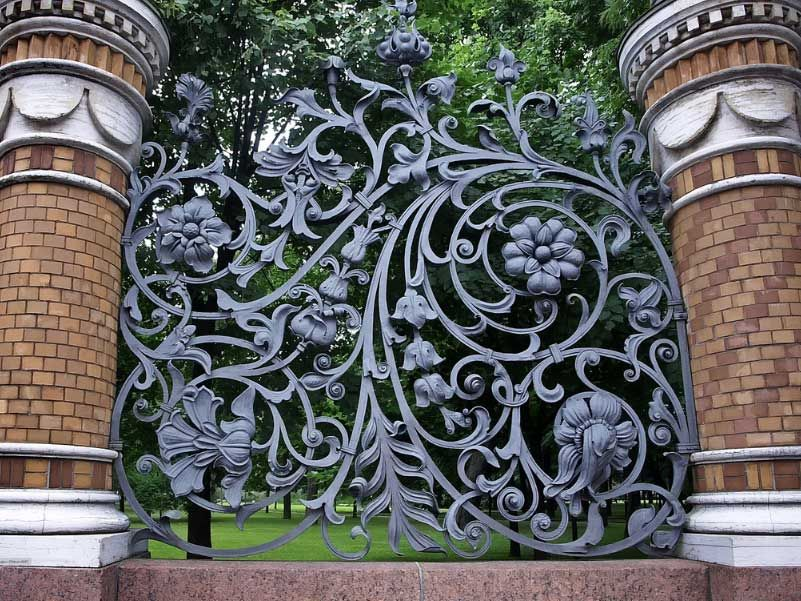 Decorative Wrought Iron Fencing Enchanting Wrought Iron