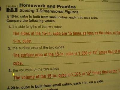 homework practice workbook geometry