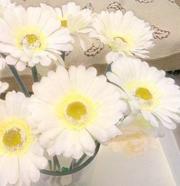 Aliexpress Com Buy 15pcs Lot Gerbera Fuso Ju Rich Artificial Flower Bouquet Silk Dried Home Party D Artificial Flower Bouquet Artificial Flowers Flower Store