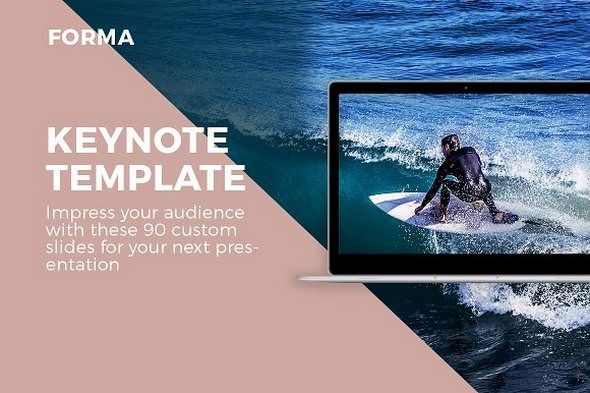Universe Keynote Template by ZAAS on @creativemarket Business - keynote template