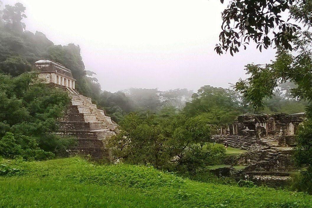 MY WAY , AROUND THE WORLD...: Il sito archeologico di Palenque, tra storia e mistero...