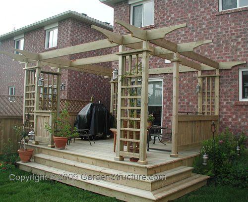 Simple Deck Designs | Free Simple Deck Plans | Woodworking Project Plans