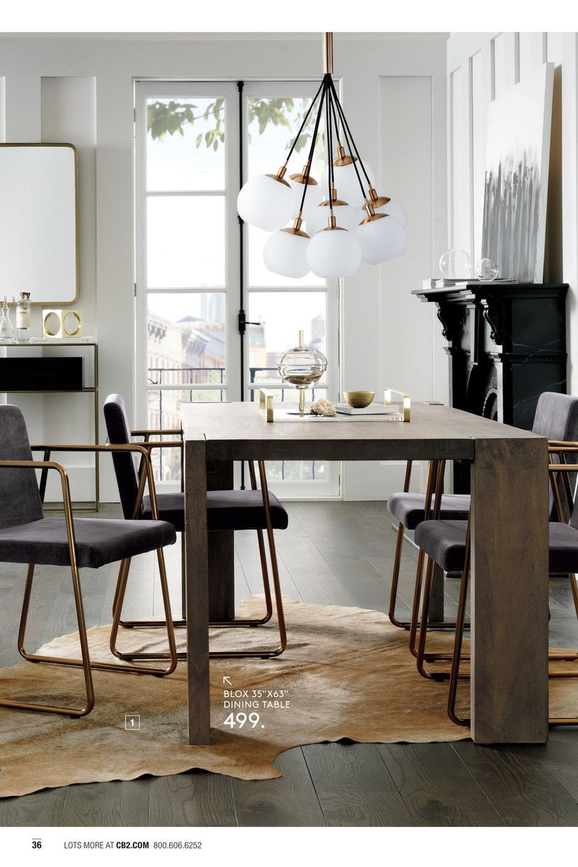 Blox 35 X63 Dining Table 1 36 Lots More At Cb2 Com 800 606 6252 499 2 Odyssey Dining Table Dining Tables 499 Or Less 199 1 Home Decor Home Dining Table