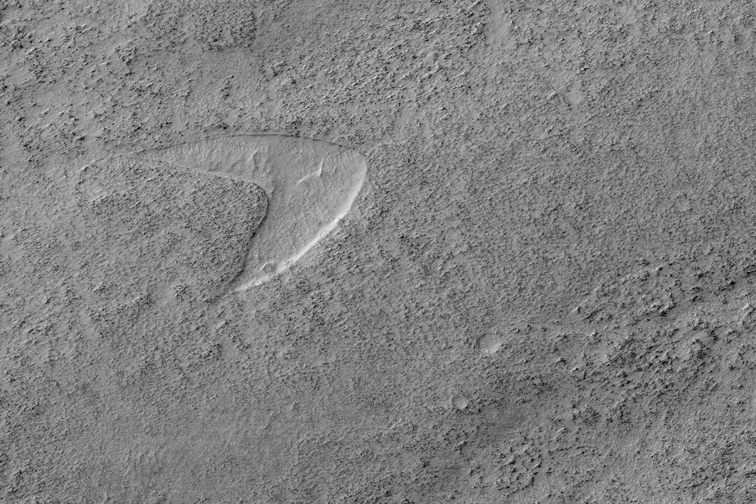 Nasa spots huge 'Star Trek' logo on the surface of Mars