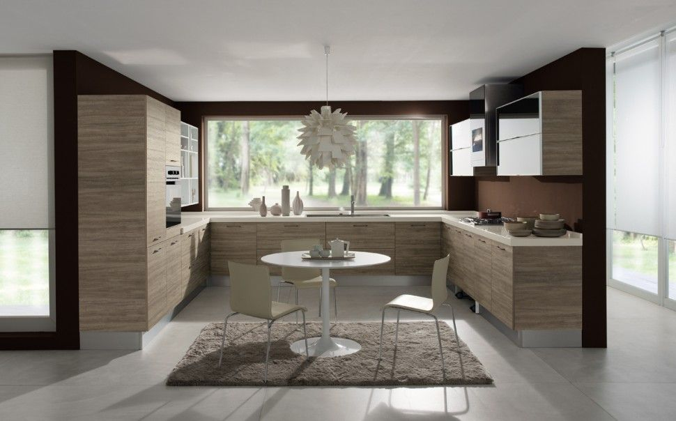 Glossy #Colombini my house Pinterest Kitchens and House - küche l form