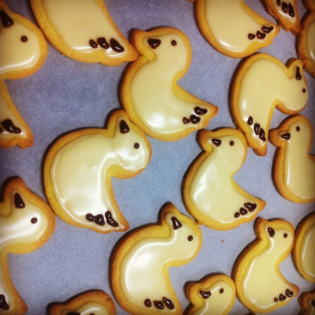 Lemon Duckie Cookies