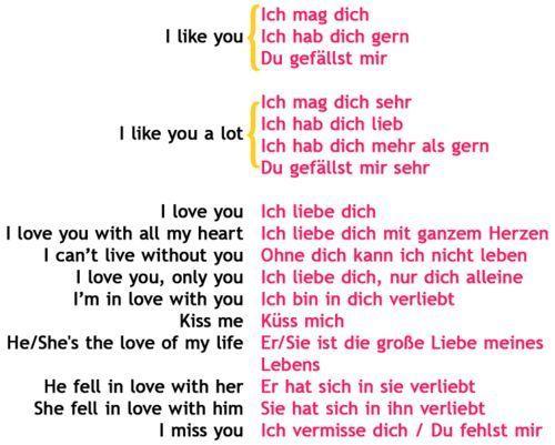 ich mag dich sehr gerne