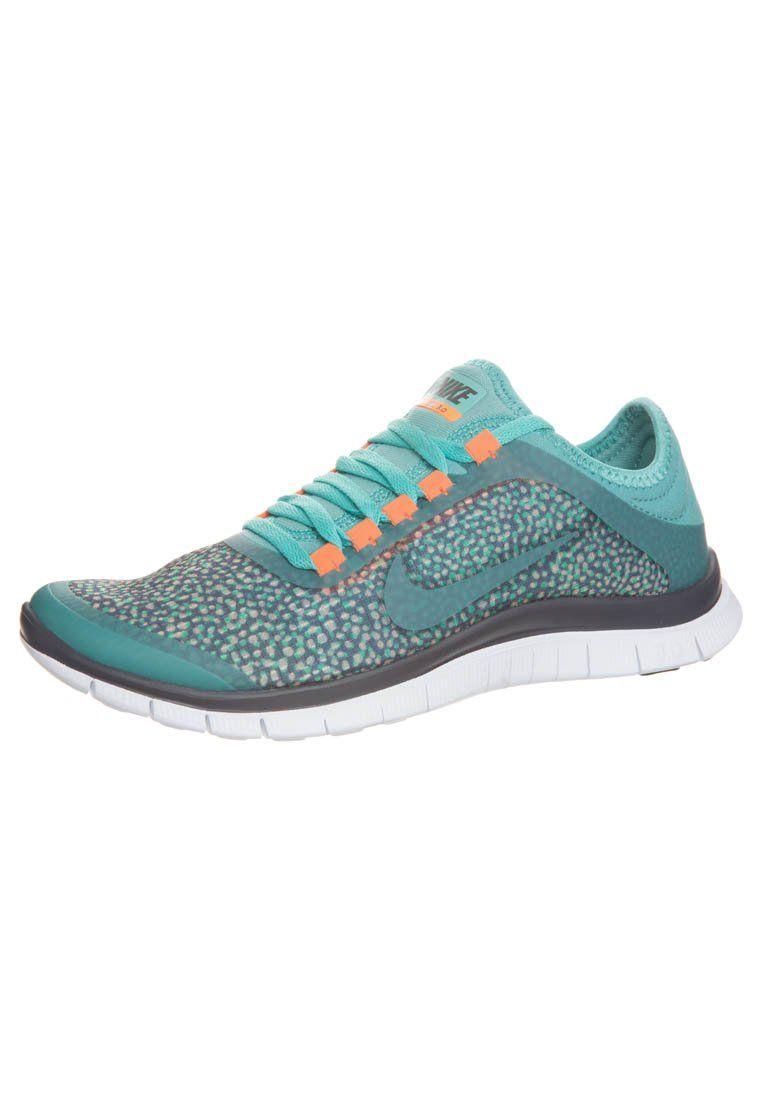 Nike Sportswear - NIKE FREE 3.0 - Sneakers laag - Turquoise